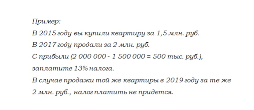 Налоги на доход от недвижимости пример расчета